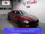 2015 Ruby Red Metallic Ford Mustang EcoBoost Premium Coupe #100791921
