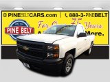 2015 Summit White Chevrolet Silverado 1500 WT Regular Cab 4x4 #100791837