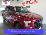2015 Ruby Red Metallic Ford F150 XLT SuperCrew #100791920
