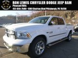 2015 Bright White Ram 1500 Laramie Crew Cab 4x4 #100792050
