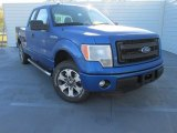 2014 Blue Flame Ford F150 STX SuperCab #100816079