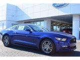 2015 Deep Impact Blue Metallic Ford Mustang EcoBoost Premium Coupe #100815984