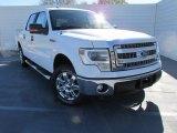 2014 Oxford White Ford F150 XLT SuperCrew #100816075