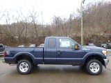 2015 Blue Jeans Ford F250 Super Duty XLT Super Cab 4x4 #100815947