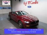 2015 Ruby Red Metallic Ford Mustang EcoBoost Premium Convertible #100815934