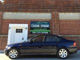 2002 Orient Blue Metallic BMW 3 Series 325i Sedan #100842375