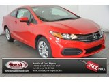 2015 Rallye Red Honda Civic LX Coupe #100841888