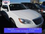 2014 Bright White Chrysler 200 LX Sedan #100841950