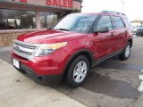 2013 Ruby Red Metallic Ford Explorer 4WD #100842308