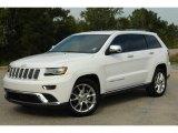 2014 Bright White Jeep Grand Cherokee Summit 4x4 #100841821