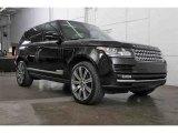 2014 Land Rover Range Rover Barolo Black Metallic