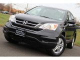 2010 Crystal Black Pearl Honda CR-V EX-L AWD #100841767