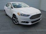 2015 White Platinum Metallic Ford Fusion SE #100842120