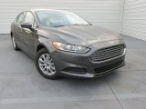 2015 Magnetic Metallic Ford Fusion S #100842118