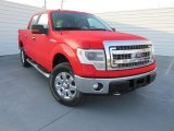 2014 Race Red Ford F150 XLT SuperCrew 4x4 #100842109