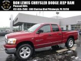 2006 Inferno Red Crystal Pearl Dodge Ram 1500 SLT Quad Cab 4x4 #100889587
