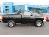 2013 Black Chevrolet Silverado 1500 Work Truck Regular Cab #100889294
