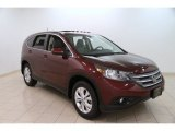 2012 Basque Red Pearl II Honda CR-V EX 4WD #100889610