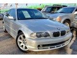 2001 Titanium Silver Metallic BMW 3 Series 325i Coupe #100889202
