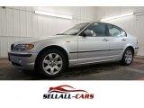 2004 Titanium Silver Metallic BMW 3 Series 325xi Sedan #100889197