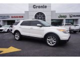 2011 White Platinum Tri-Coat Ford Explorer Limited #100922304