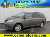 2012 Cypress Green Pearl Toyota Sienna LE AWD #100922484