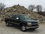 Forest Green Metallic Chevrolet Silverado 1500 in 2001