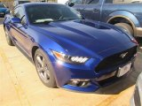 2015 Deep Impact Blue Metallic Ford Mustang V6 Coupe #100922137