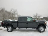 2015 Tuxedo Black Ford F250 Super Duty XLT Crew Cab 4x4 #100922123