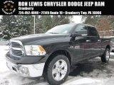 2015 Black Ram 1500 Big Horn Crew Cab 4x4 #100922184