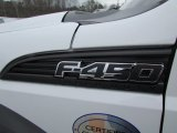 Ford F450 Super Duty Badges and Logos