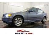 2002 Steel Blue Metallic BMW 3 Series 325xi Sedan #100922070