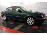 2005 Jaguar X-Type Jaguar Racing Green Metallic