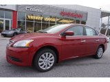 2014 Red Brick Nissan Sentra S #100922373