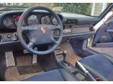 1995 Porsche 911 Carrera Coupe Midnight Blue Interior
