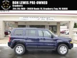 2014 True Blue Pearl Jeep Patriot Sport 4x4 #100957108