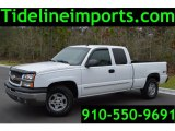 2003 Summit White Chevrolet Silverado 1500 LT Extended Cab 4x4 #100957309