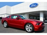 2014 Ruby Red Ford Mustang GT Coupe #100957125