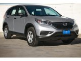 2015 Alabaster Silver Metallic Honda CR-V LX #100987689