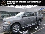 2010 Light Graystone Pearl Dodge Ram 1500 Big Horn Crew Cab 4x4 #100987741