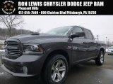 2015 Granite Crystal Metallic Ram 1500 Sport Crew Cab 4x4 #101007313