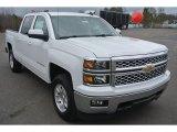 2015 Summit White Chevrolet Silverado 1500 LT Crew Cab 4x4 #101014034