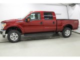 2015 Ruby Red Ford F250 Super Duty XLT Crew Cab 4x4 #101013710