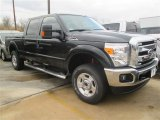 2015 Tuxedo Black Ford F250 Super Duty XLT Crew Cab 4x4 #101013832