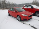 2015 Race Red Ford Focus SE Hatchback #101013823