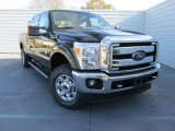 2015 Tuxedo Black Ford F250 Super Duty XLT Crew Cab 4x4 #101013925