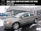 2006 Galaxy Gray Metallic Honda Civic LX Coupe #101034283