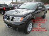 2013 Super Black Nissan Frontier SV V6 Crew Cab #101034331