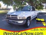 2001 Bright White Dodge Ram 1500 SLT Club Cab #101034057