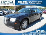 2008 Brilliant Black Crystal Pearl Chrysler 300 LX #101060812